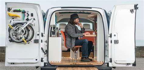 ufficio mobile l ufficio mobile a emissioni zero secondo nissan gqitalia it