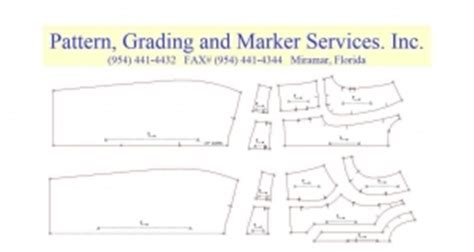 pattern grading companies pattern grading marker services inc apparel