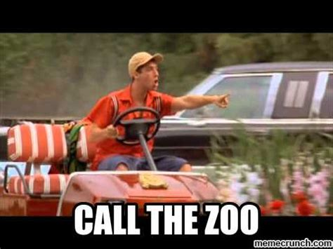 Billy Madison Meme - call the zoo