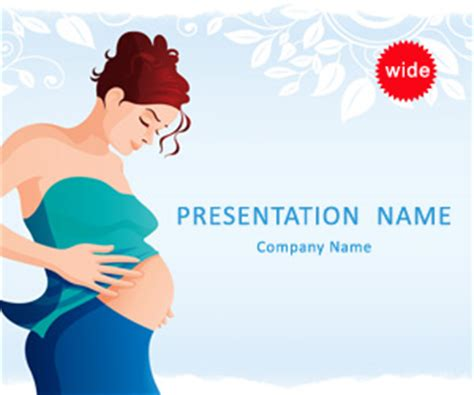 pregnancy powerpoint template bachelor zone