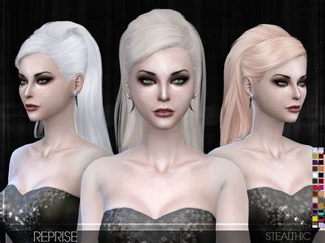 www simplicity sims 4 cc stealthic reprise female hair