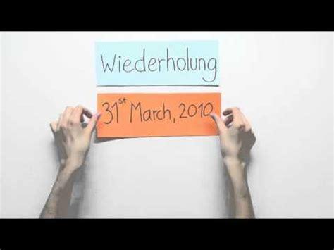 Anschreiben Englisch Starting Date Das Datum Date 220 Bungsvideo Englisch Konversation