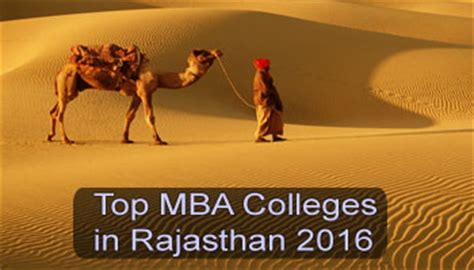 Mba From Rajasthan by Top Mba Colleges In Rajasthan 2016