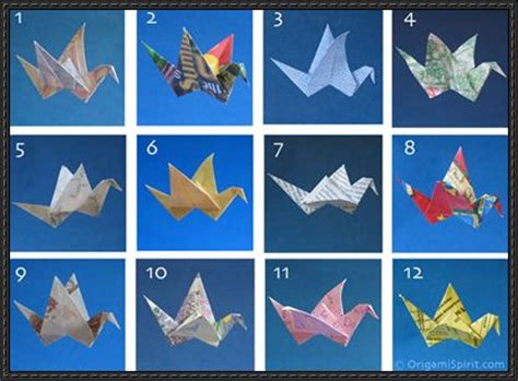 Types Of Craft Paper - papercraftsquare new paper craft 12 types origami birds