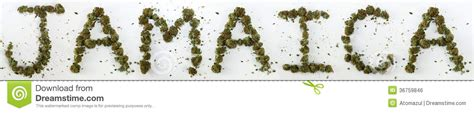 jamaican up letter jamaica spelled with marijuana stock photo image 36759846