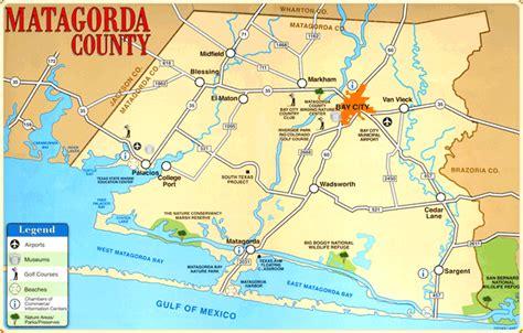 matagorda texas map matagorda county map