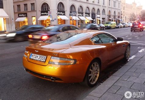 Aston Martin Orange County by Spotted Madagascar Orange Aston Martin Db9 In Munich