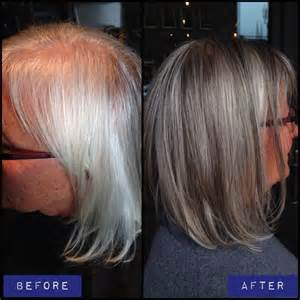 grey hair with lowlights pictures blending gray hair with lowlights dark brown hairs
