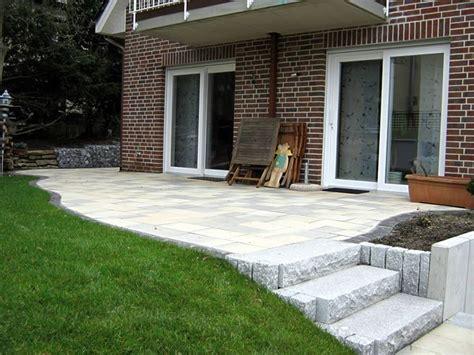 terrasse treppe terrasse mit sichtschutz und treppe zum garten best