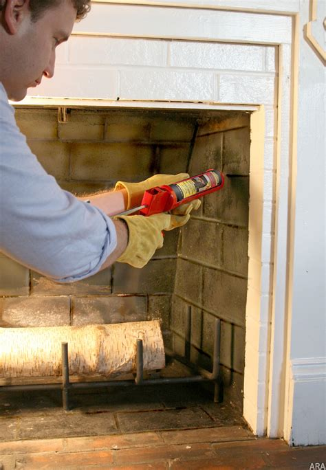 Fireplace Maintenance by Raleigh Home Inspector On Mortar Joint Repairs Maintenance