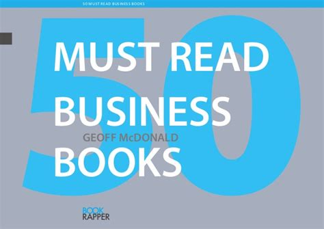 Free To Read Mba Books by 50 Must Read Business Books
