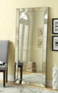Home Accents Contemporary Silver Floor Mirror With