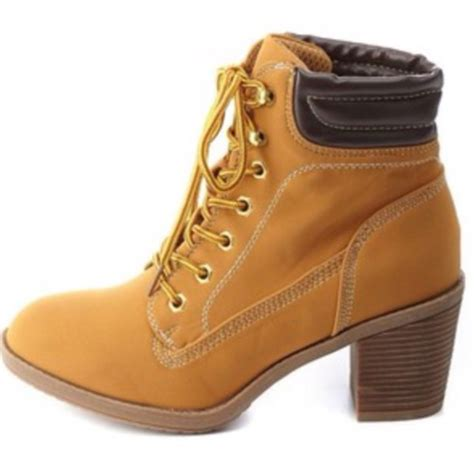 high heel tim boots shoes beige heels boots timberlands beige shoes tims