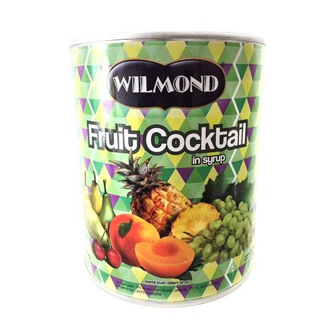 Wilmond Fruit Cocktail In Syrup Canned jual daily deals wilmond fruit cocktail in syrup canned minuman buah kaleng 825 g