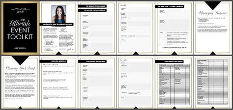 Event Toolkit Event Head Event Management Wedding Planning Checklist