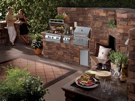 outdoor barbeque designs feng shui harmonious backyard garden with a bbq and natural stone with an outdoor dining area
