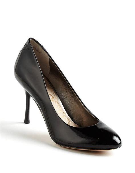 black patent leather pumps sam edelman camdyn patent leather pumps in black lyst