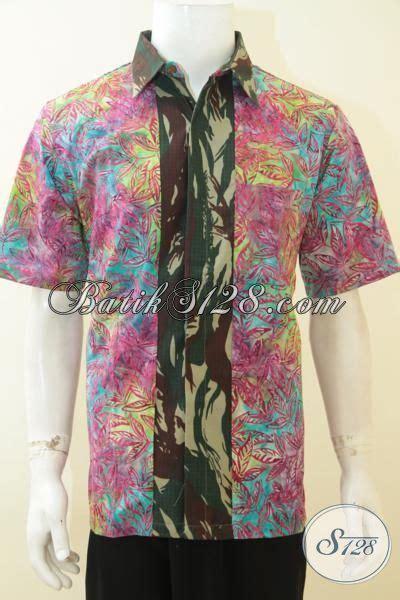 Batik Army baju batik pesta untuk pria muda batik santai motif