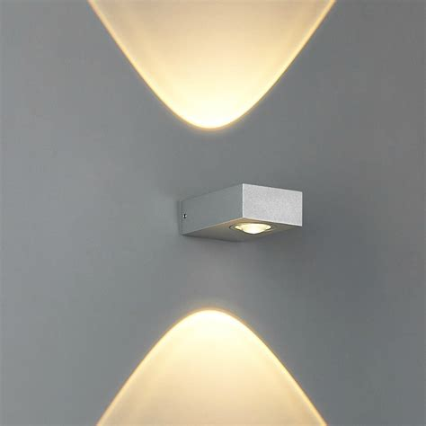 up and side lighting 6w led wall l modern compact