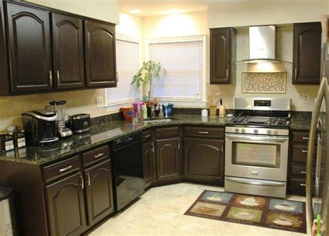 Espresso Color Kitchen Cabinets by 10 Painted Kitchen Cabinet Ideas Espresso Cabinets