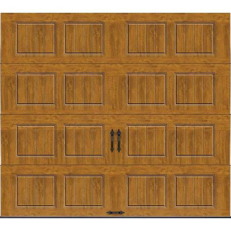 9 X 8 Insulated Garage Door by Clopay Gallery Collection 9 Ft X 8 Ft 18 4 R Value