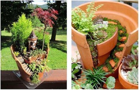 vasi di terracotta colorati riciclare vasi di terracotta idee green