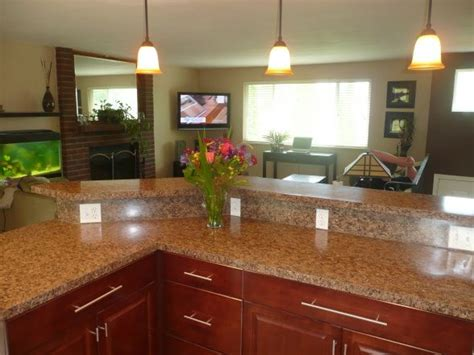 Split Level Kitchen Designs Split Level Kitchen Bananza Kitchen Designs Decorating Ideas Hgtv Rate My Space Update