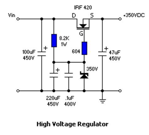 high power transistor voltage regulator designing an op headphone lifier