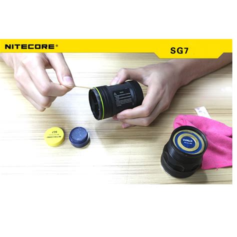 Nitecore Silicone Grease For Flashlights Sg7 No Color nitecore sg7 flashlight silicone grease for maintenance retail alex nld