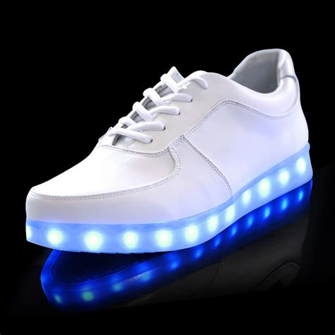 led shoes for new shoes simulation led shoes for adults size 45 46 led