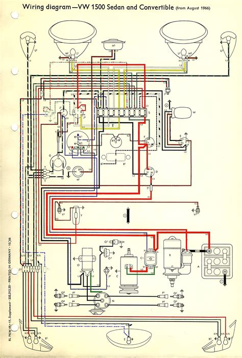 volkswagen beetle wiring diagram wiring diagram