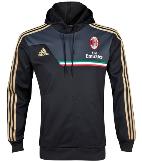 Sweater Ac Milan White 1314 13 14 Ac Milan Black Hoody Sweater Am 00001 47 99
