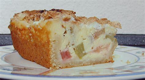 rhabarber quark kuchen rhabarber quark kuchen unter baiserhaube