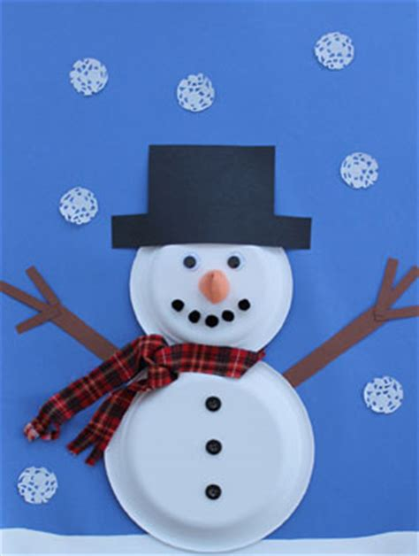 How To Make A Snowman Out Of Paper Plates - 21 easy paper plate snowman ideas for your guide