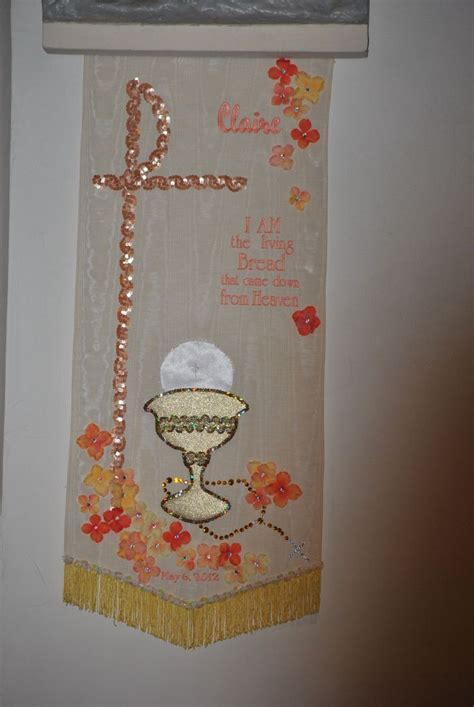 25 best images about first communion banner ideas on