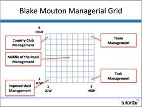 mouton managerial grid tutor2u business