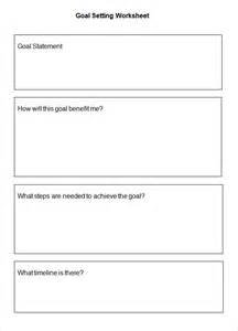goal setting for employees template 5 goal setting worksheet templates free word pdf