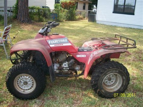 1988 Honda Fourtrax 300 Specs Honda Fourtrax Pictures Photos Information Of