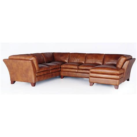 camel leather sectional sofa camel leather 3 sectional