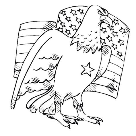coloring pages bald eagle and us flag american flag and eagle free coloring pages 232000 eagle