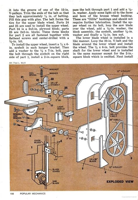 popular mechanics woodworking plans bandsaw pattern jig woodworking projects plans