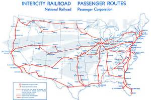 amtrak system map 1971 amtrak history of america s