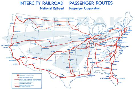 train routes amtrak rail map world map 07