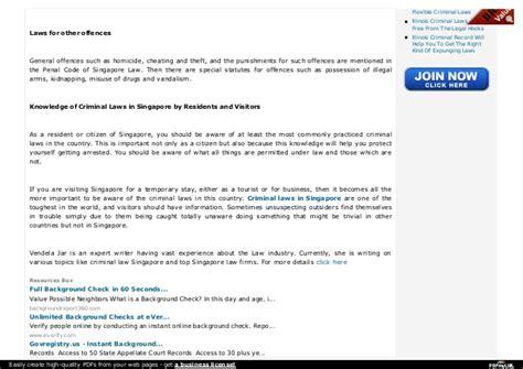 Criminal Record Singapore Check Personal Background Check Singapore Background Ideas