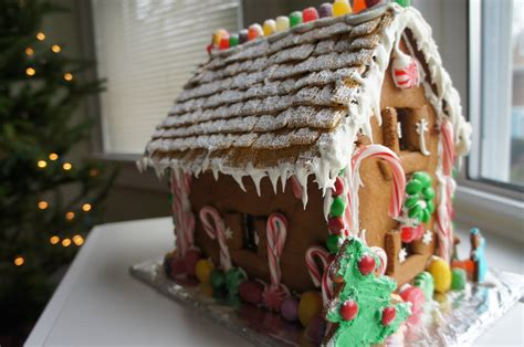 how to make a gingerbread house youtube