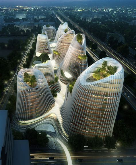architect in chinese ma yansong mad architects shan shui city at designboom