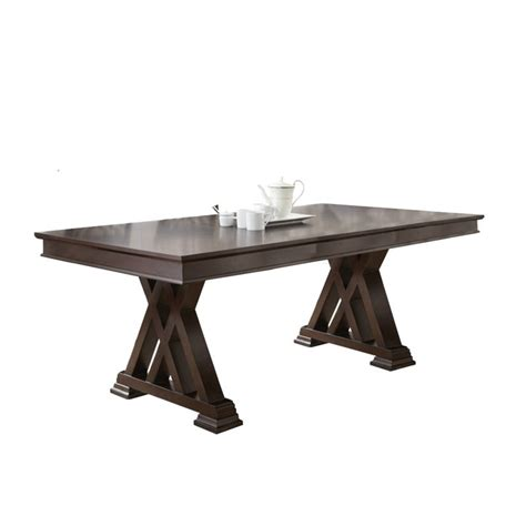 steve silver dining table steve silver adrian dining table in espresso cherry