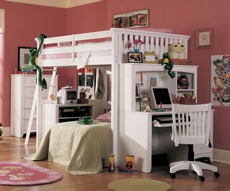 bunk beds with desks them size bunk bed with desk cool solution for small