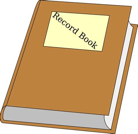 record book record book clip at clker vector clip
