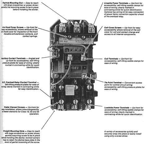 magnetic motor starter diagram furnas motor starter wiring